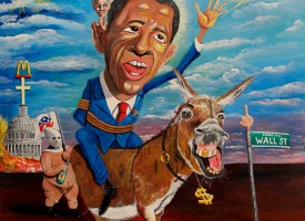 The 44th President Barack Obama