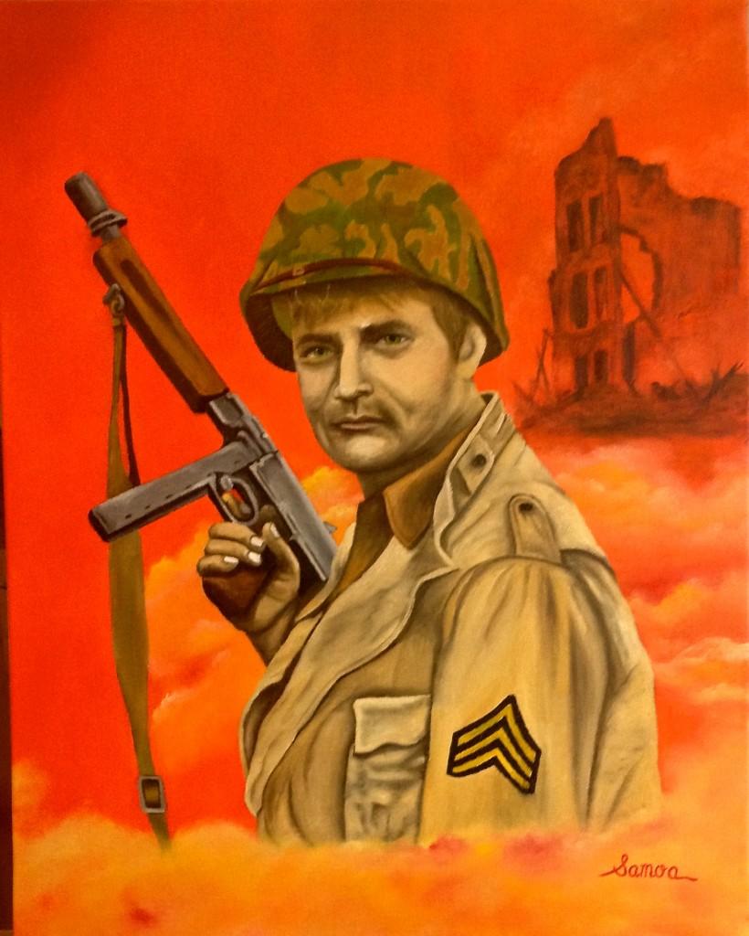 Vic Morrow as Sergeant  Saunders